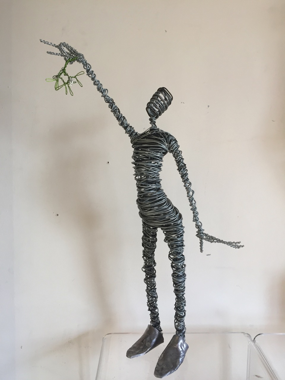 Small Figures | Rachel Ducker Wire Sculpture