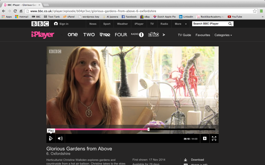 Rachel Ducker on BBC One