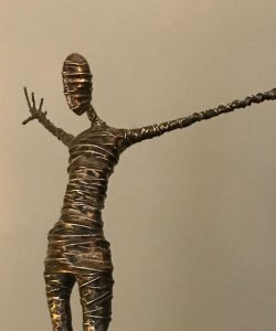 bronze figure sculpture rachel ducker