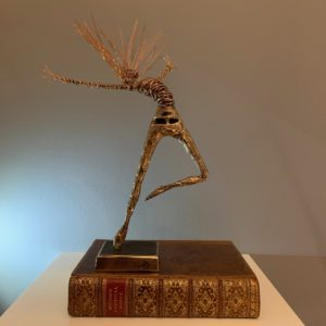 bronze and wire art sculpture rachel ducker