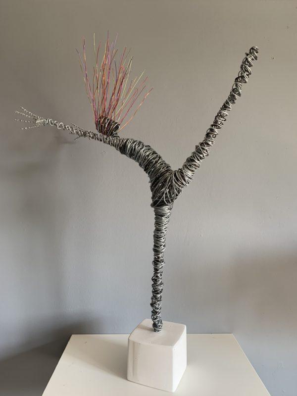Rachel Ducker Wire Figure
