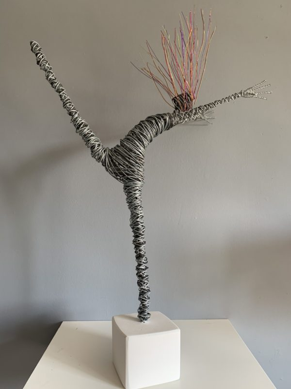 Rachel Ducker Wire Figure