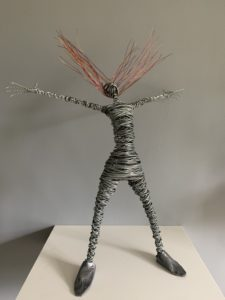 Rache Ducker Wire Sculpture