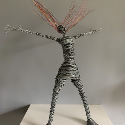 Rache Ducker Wire Sculpture