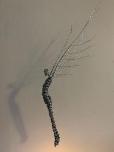 wire suspended art sculpture rachel ducker