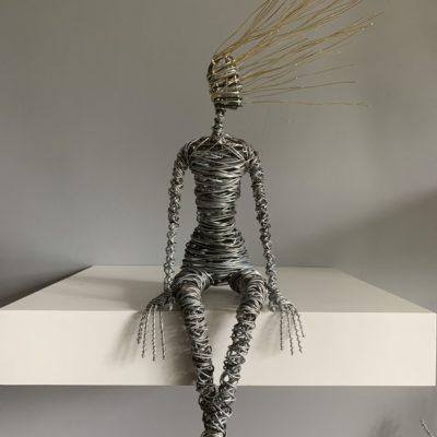 Rachel Ducker Sitting Figure