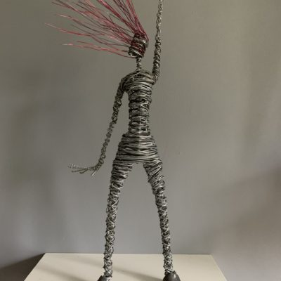 Rachel Ducker Wire Sculpture