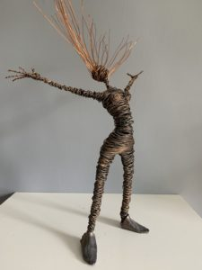 Rachel Ducker Wire Sculpture