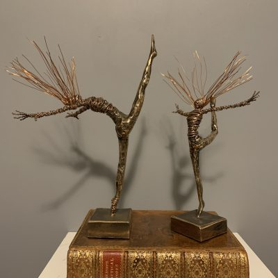 2. Bronze and Wire